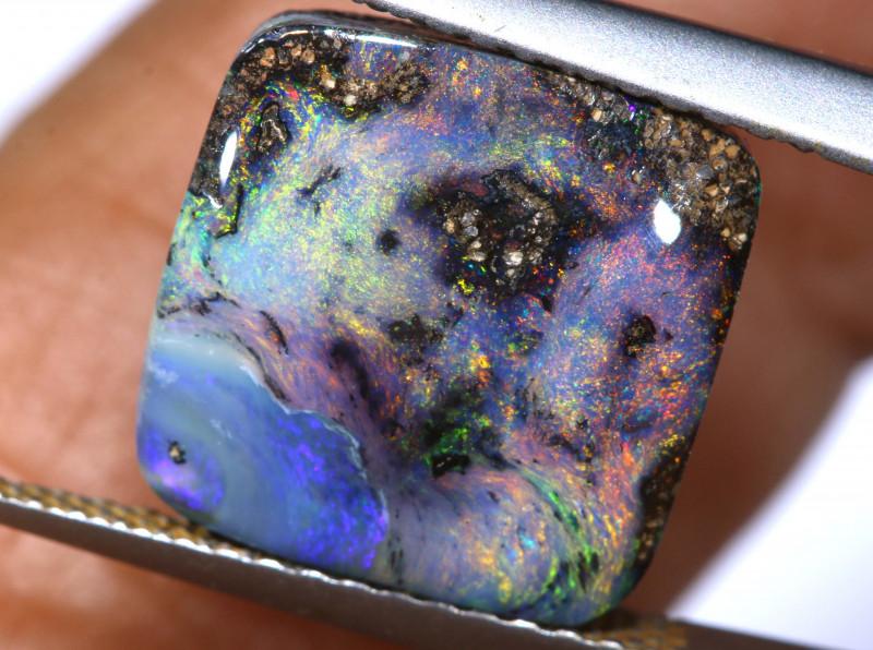 5.15 cts boulder opal polished cut stone  TBO-A3276