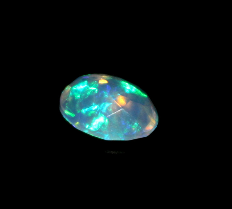 1.50 Crt Natural Ethiopian Welo Fire Faceted Opal 482