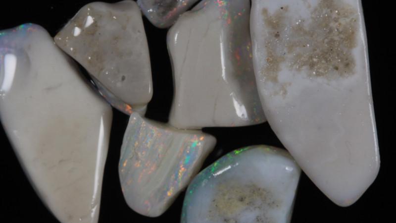 NO RESERVE!! #2 Mintabie Gamble Rough Opal [33446] 53FROGS