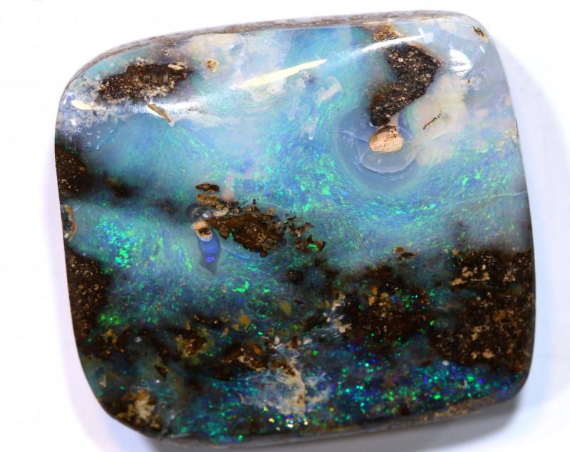 30.55 cts boulder opal polished cut stone  TBO-A3288