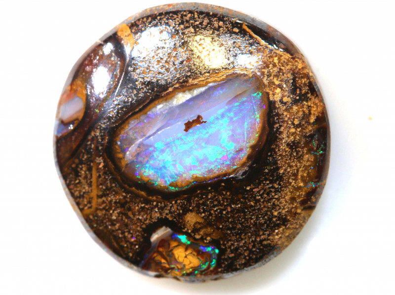 13.90 CTS SOLID YOWAH NUT  STONE RO-1155