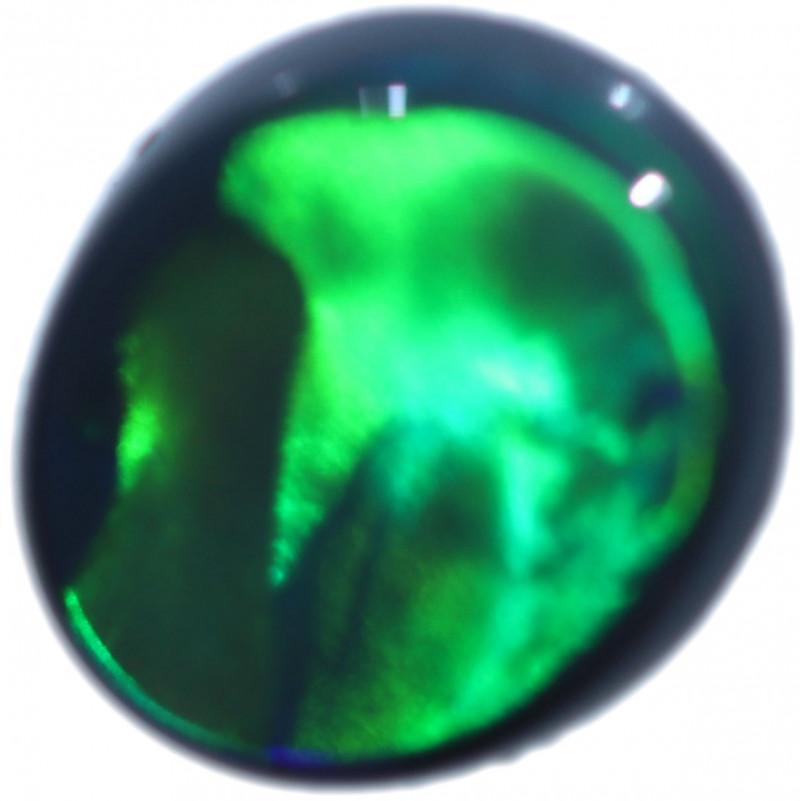 0.69 CTS BLACK OPAL STONE-FROM LIGHTNING RIDGE - [LRO2208]