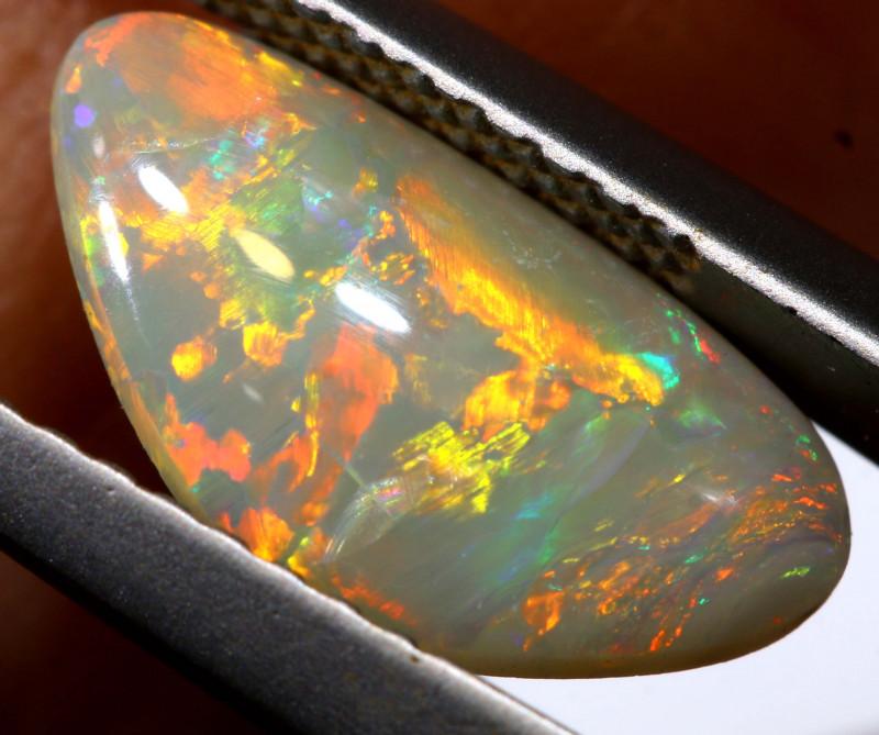 N6-  1.10 cts dark opal stone lightning ridge  TBO-A3375