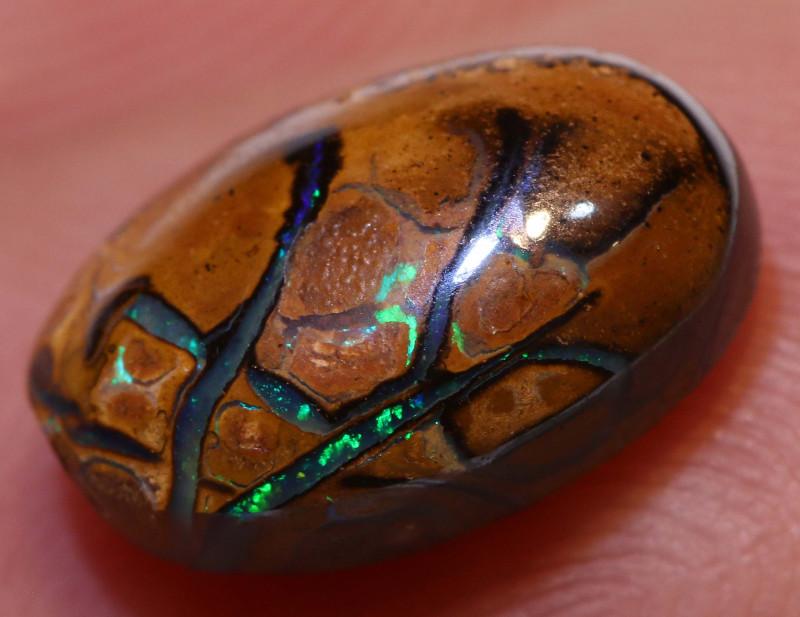 Koroit Opal Polished Stone 2.55 cts   AOH-381