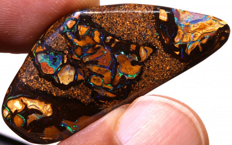 Koroit Opal Polished Stone 36.90 cts   AOH-387