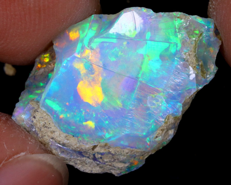 7cts Natural Ethiopian Welo Rough Opal / WR7616