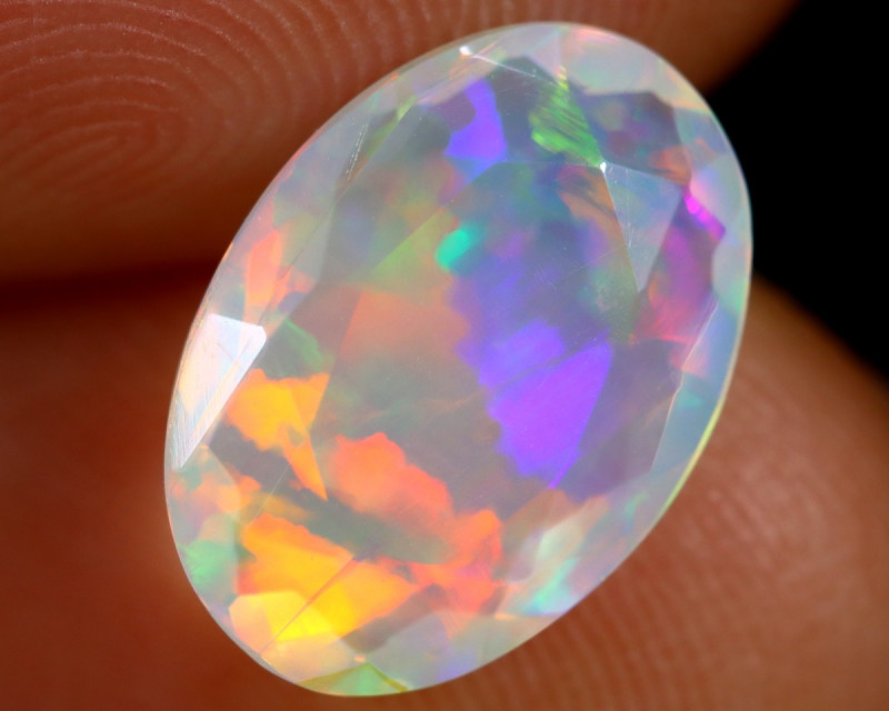 1.91cts Natural Ethiopian Faceted Welo Opal /BF7135