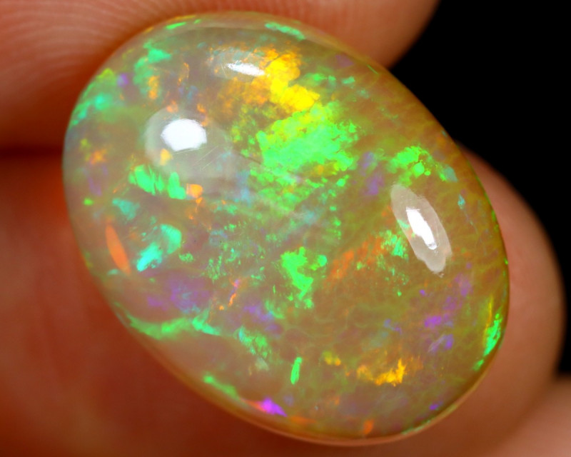 6.43cts Natural Ethiopian Welo Opal / BF7128