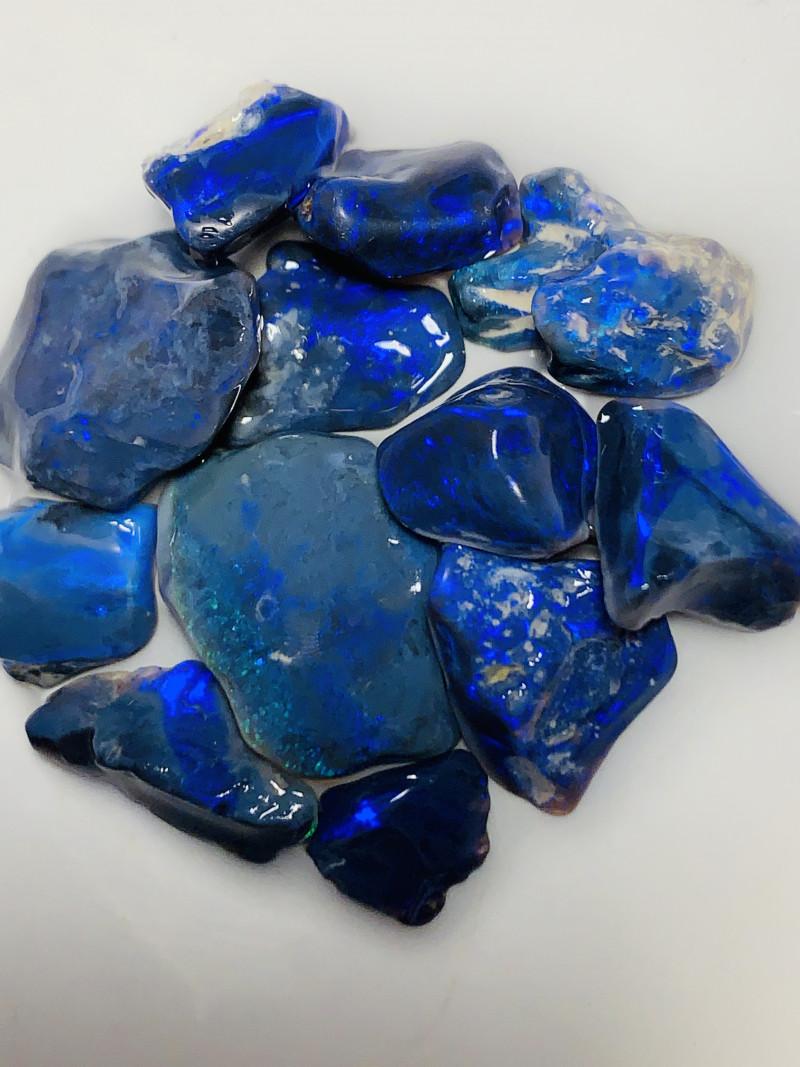 N1 Mulga Black Opals [Many more No Reserves, See below]
