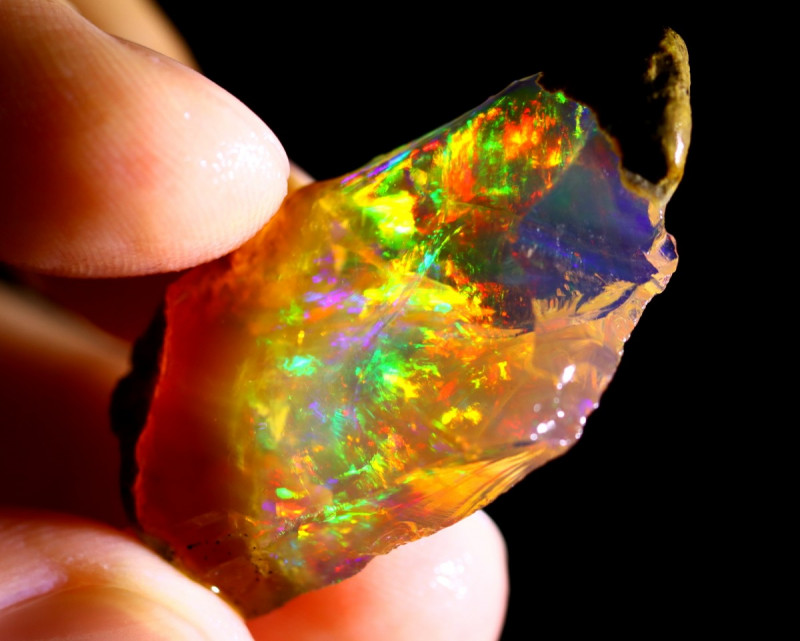 24cts Ethiopian Crystal Rough Specimen Rough / CR4302