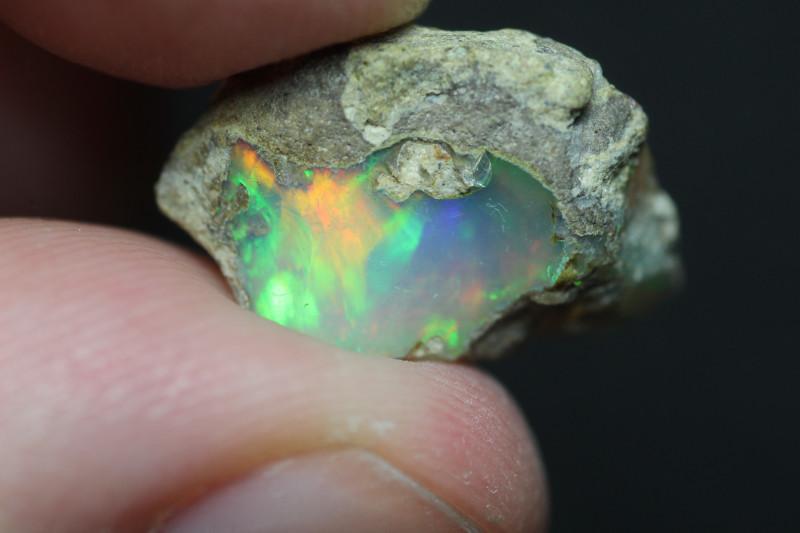 Natural 5.5ct Ethiopian Welo Rough Opal #REO291