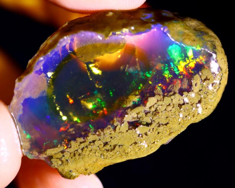 63cts Ethiopian Crystal Rough Specimen Rough / CR4406