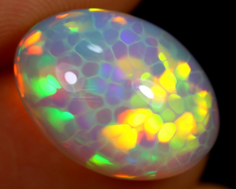 6.55cts Natural Ethiopian Welo Opal / BF7496