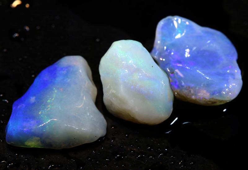 5.25cts coober pedy crystal opal rough ADO-8936 - adopals