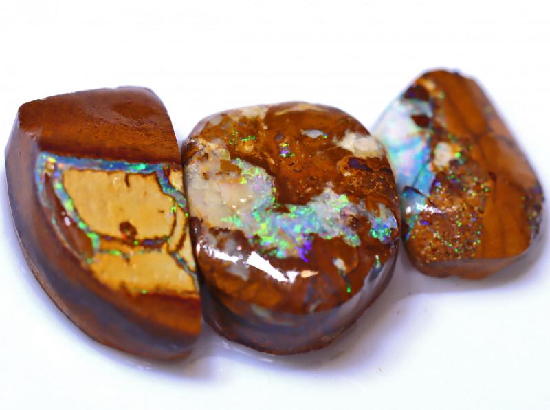 49.27 Carats Yowah Opal Pre Shaped Rough Parcel  ANO-2075