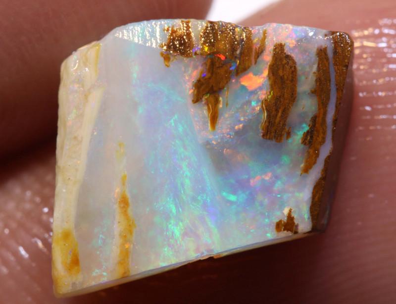 3.40cts Boulder Pipe Opal Pre Shaped Rub ADO-9045 - adopals