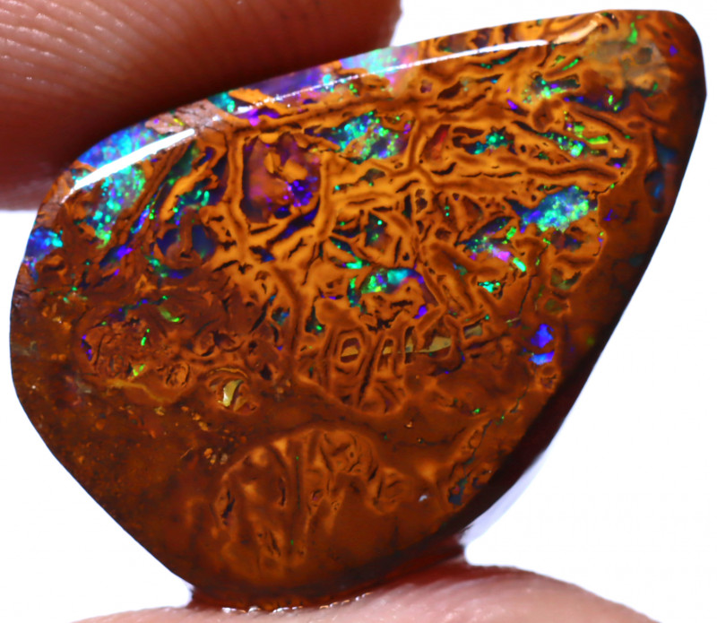 17.73 Carats  Stunning Yowah Opal  Pre Shaped Rub ANO-2109