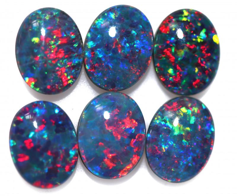 7.9 Cts Australian Triplet Opals Parcels 9x7mm FO 1445