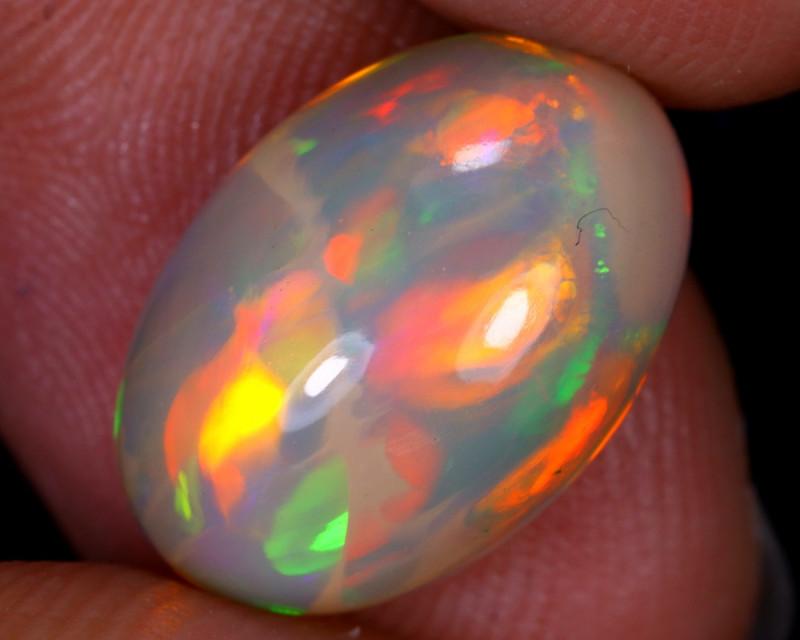 4.35cts Natural Ethiopian Welo Opal / GUX496