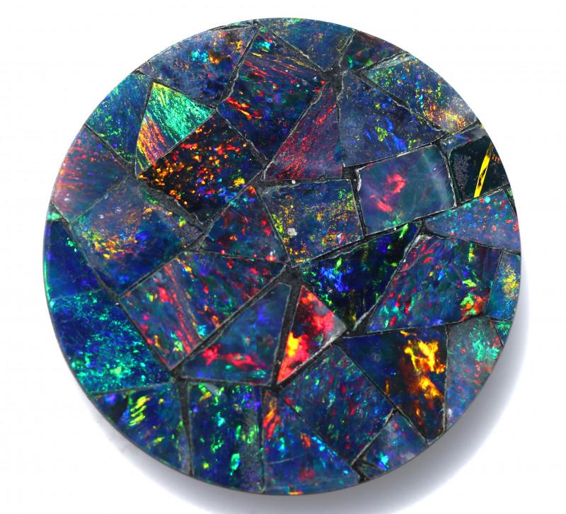 5 Cts  Australian Opal Doublet Mosaic   FO 1493