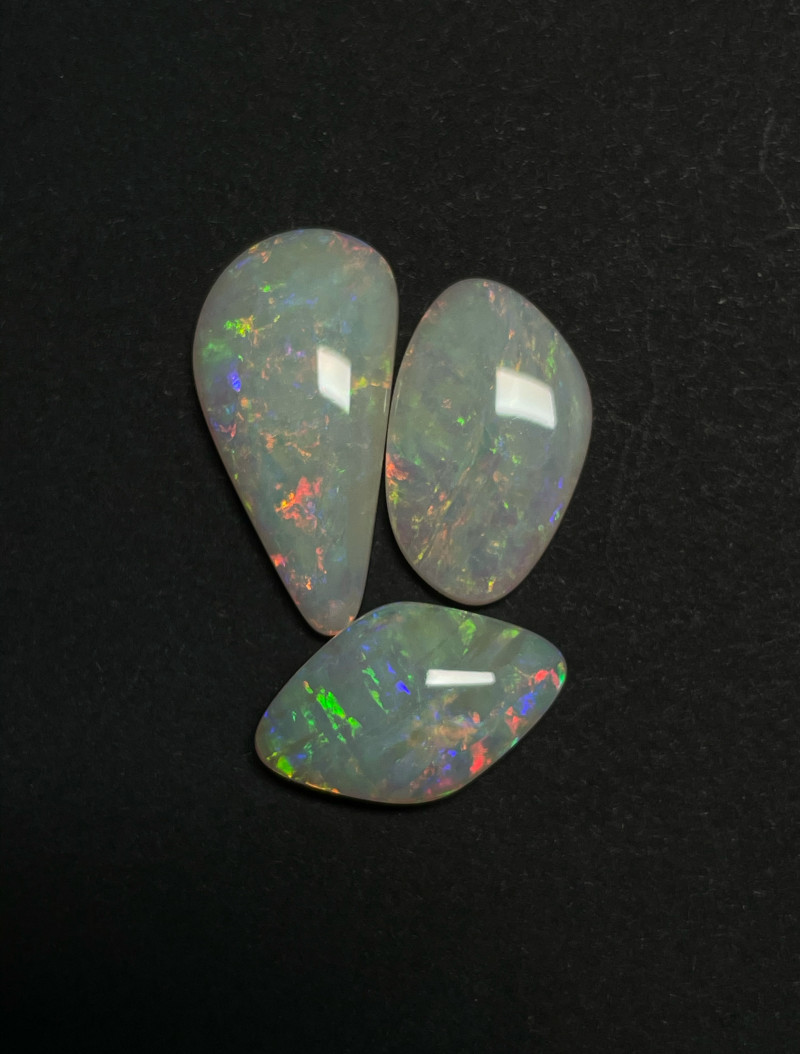 16.6ct Coober Pedy White Opal Parcel