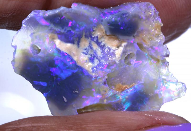 12cts Lightning Ridge Opal Nobby Rough DT-A5061 - dreamtimeopals