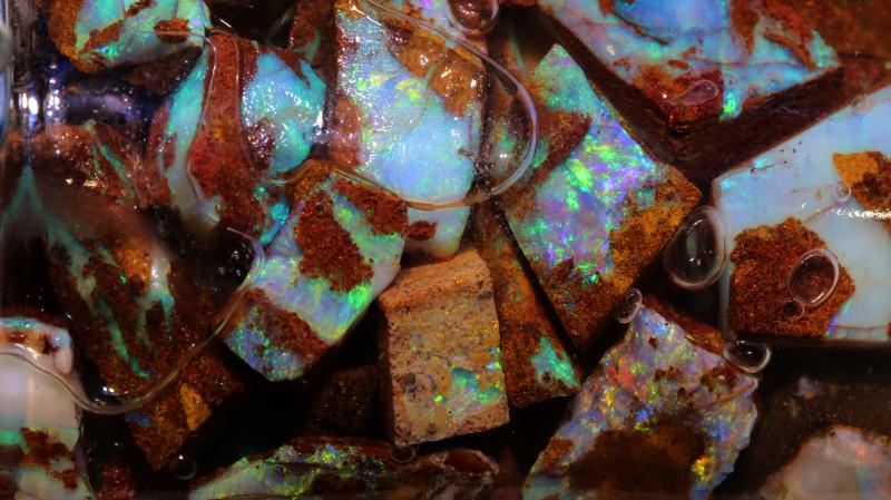 Boulder Pipe Opal JAR OF FUN TO EXPLORE Jar-1 - downunderopals