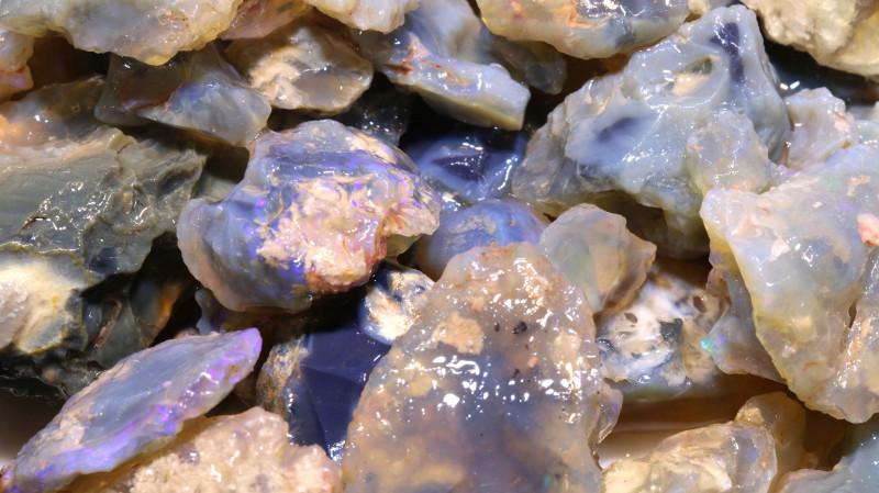 1500cts Dark/Jelly Opal Rough Parcel L.Ridge ADO-9166  adopals