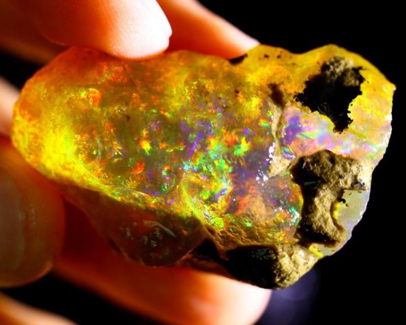111cts Ethiopian Crystal Rough Specimen Rough / CR4524