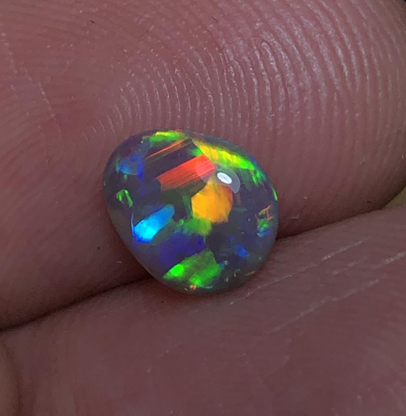 0.94ct Lightning Ridge Crystal Opal FM316