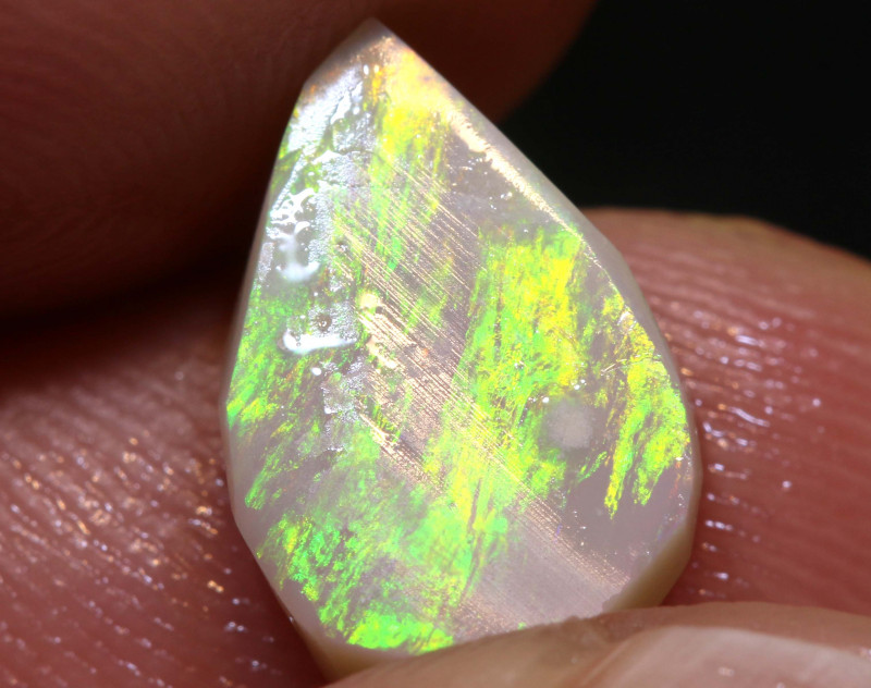 2.85cts Lightning Ridge Prefinished Opal Rub ADO-9251 adopals