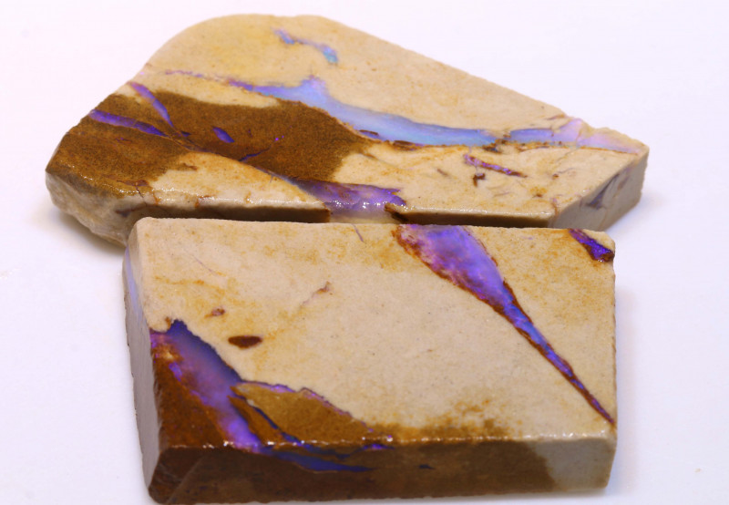 113.40cts Boulder Pipe Opal Prefinished Rubs ADO-9305 - adopals