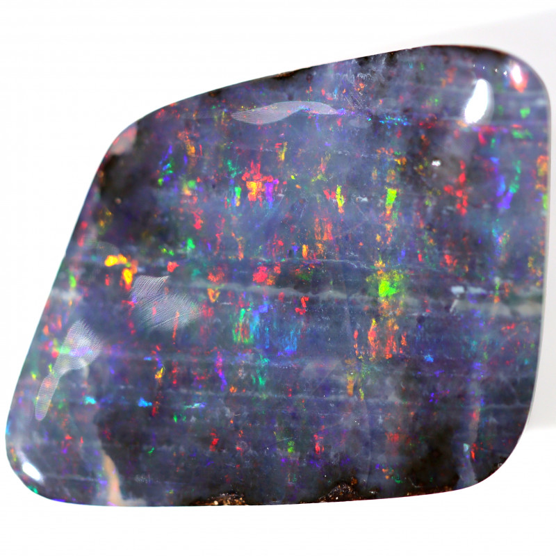 13.7 CTS BOULDER OPAL POLISHED STONE FROM WINTON  [CS723]