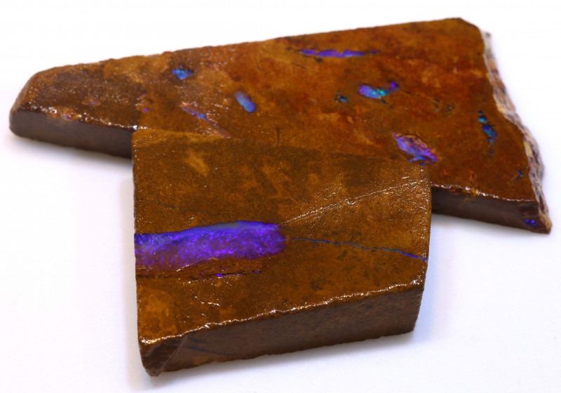 83cts Boulder Pipe Opal Prefinished Rubs  ADO-9436 - adopals