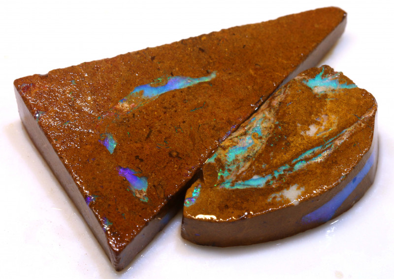 92cts Boulder Pipe Opal Prefinished Rubs  ADO-9440 - adopals