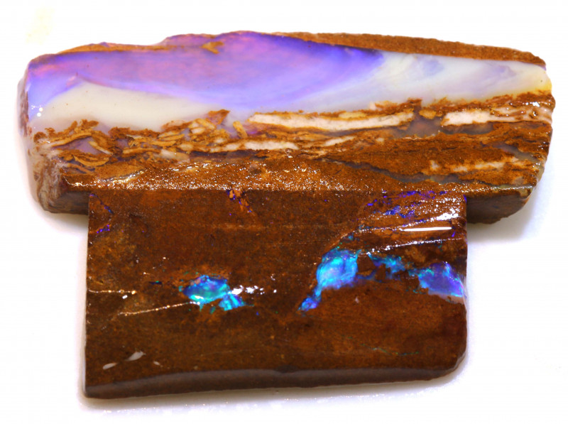 43cts Boulder Pipe Opal Prefinished Rubs  ADO-9446 - adopals