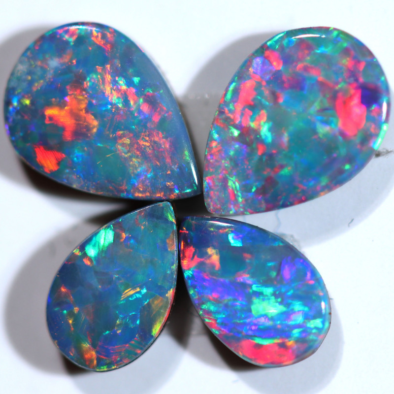 1.25 CTS OPAL DOUBLET PARCEL SET 4 [SO265]