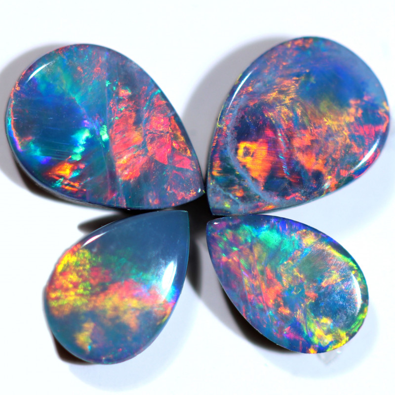1.25 CTS OPAL DOUBLET PARCEL SET 4 [SO267]