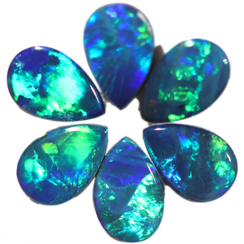 1.45 CTS OPAL DOUBLET PARCEL SET 6 [SO277]