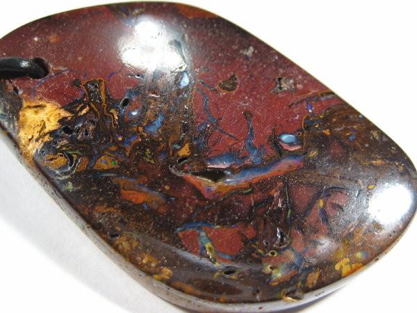 YowahOpals*68.10ct Lovely Boulder Matrix Opal Pendant