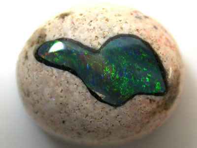 CABOCHON INLAY OPAL   7.30   CTS  R 1591