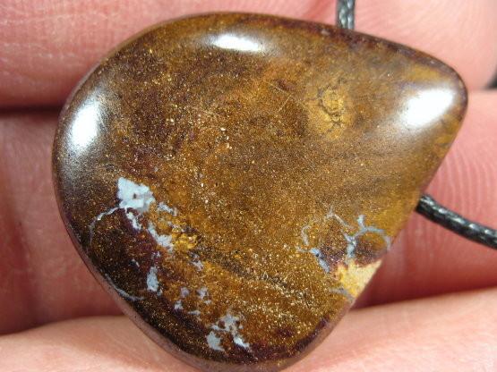 YowahOpals* 33.10 ct Yowah Boulder Matrix Opal - Pendant