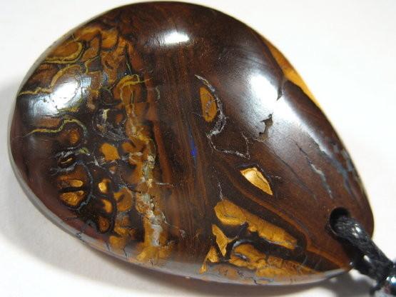 YowahOpals* 58.70ct OPAL PENDANT - Yowah Opal Field