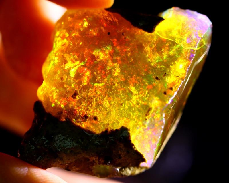 107cts Ethiopian Crystal Rough Specimen Rough / CR4697