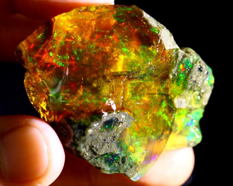 125cts Ethiopian Crystal Rough Specimen Rough / CR4711