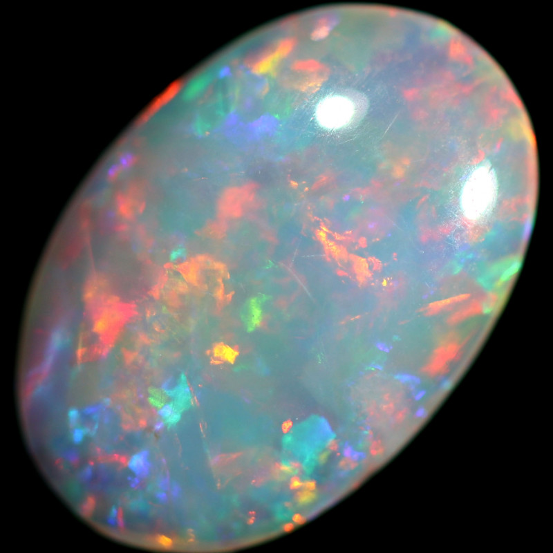 0.62 CTS CRYSTAL OPAL FROM COOBER PEDY  [CP7583]6