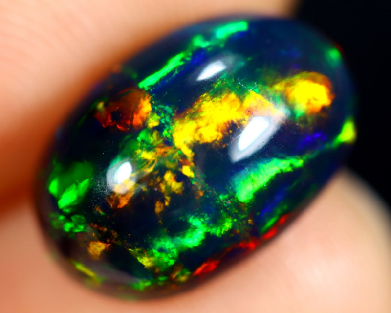 2.74cts Natural Ethiopian Smoked Welo Opal / BF8013