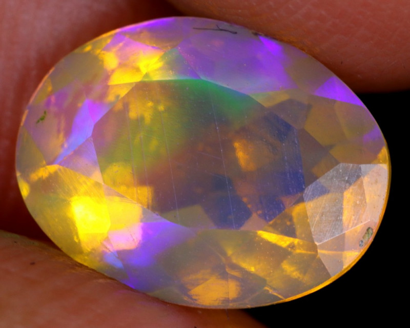 1.94cts Natural Ethiopian Faceted Welo Opal / NY3049