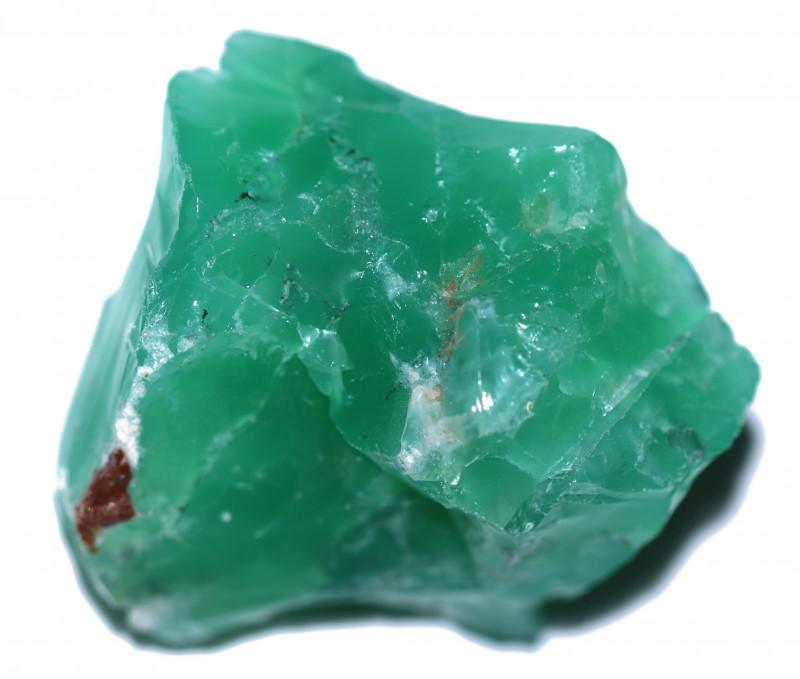 prase green opal