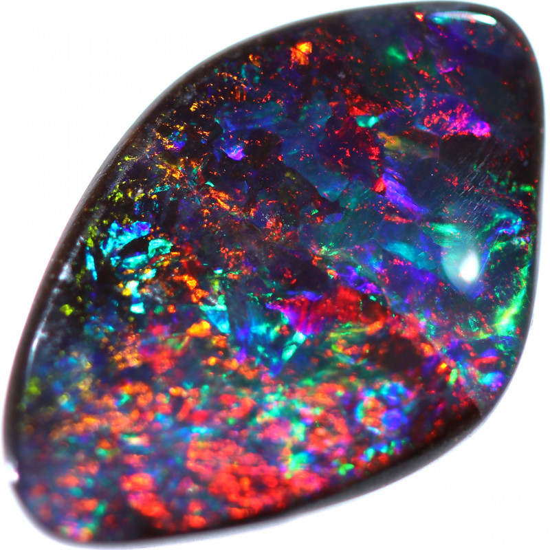 4.03 CTS BOULDER OPAL  STONE FROM WINTON -TOP POLISH-[BMB1221]
